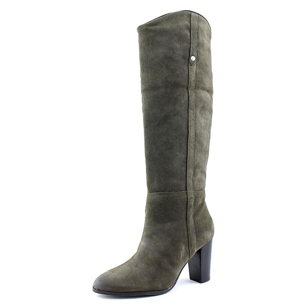 Guess Honon Round Toe Suede Knee High Boot