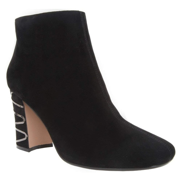 Nina Womens Sayla Suede Round Toe Ankle Fashion Boots