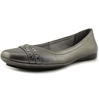 Life Stride vibes Women Round Toe Synthetic Gray Ballet Flats