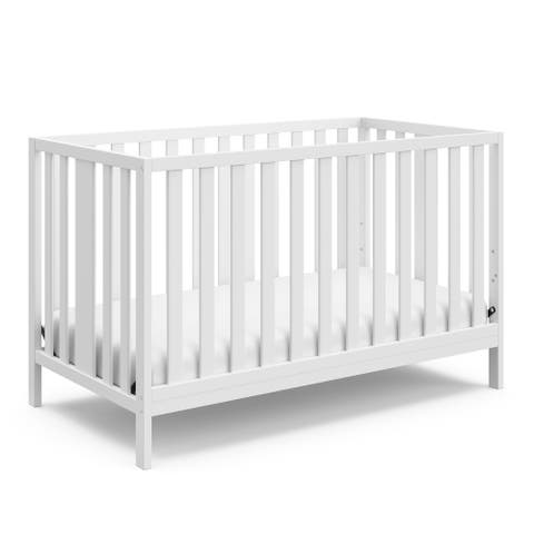 Storkcraft Pacific 4-in-1 Convertible Crib - Converts to Toddler Bed, Daybed, and Full-Size Bed, JPMA Certified, 1-Year Warranty