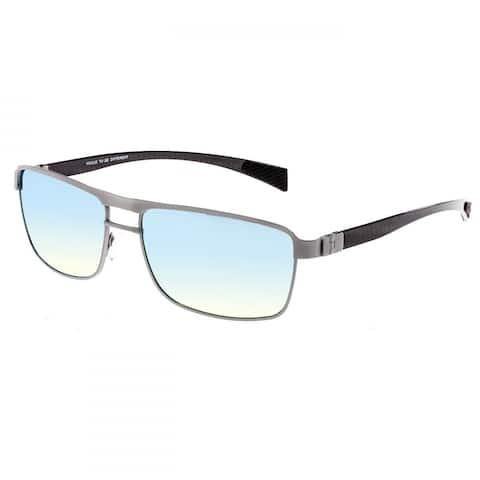 4be99153f9bc Breed Taurus Men's Titanium Sunglasses - 100% UVA/UVB Prorection - Polarized /Mirrored