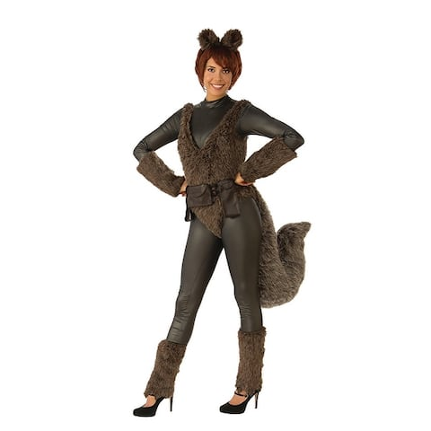 DC Comics Squirrel Girl Adult Costume - Brown
