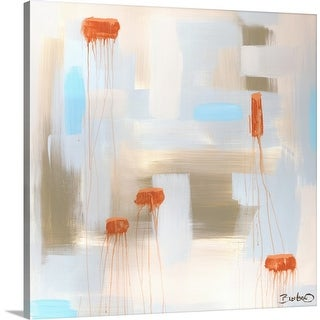 """Abstract Diptych I"" Canvas Wall Art"