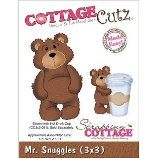 """CottageCutz Die -Mr. Snuggles 1.5""""X2.5"""""""