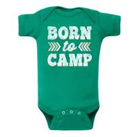 Born To Camp  - Infant One Piece
