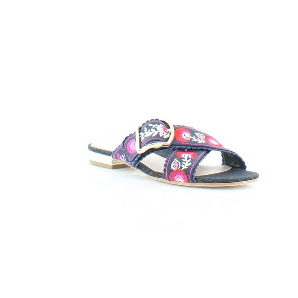 Kate Spade Faris Women's Sandals & Flip Flops Indigo Canvas - 5.5
