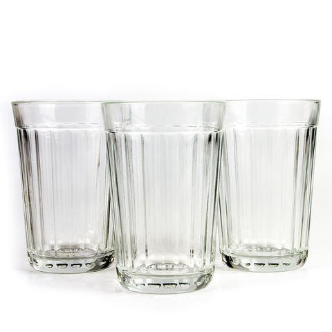STP Goods Authentic Russian Faceted Drinking Glass