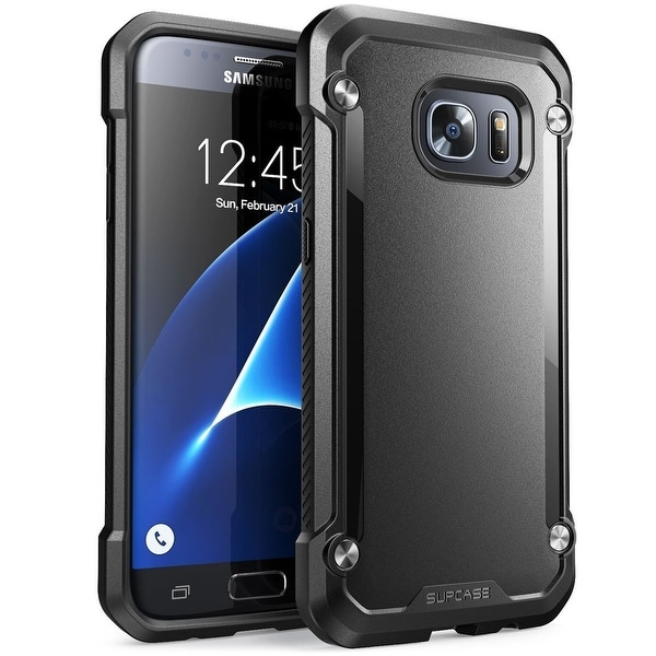 Galaxy S8 Case, SUPCASE Unicorn Beetle Series Premium Hybrid Protective Clear Case-Frost/Black