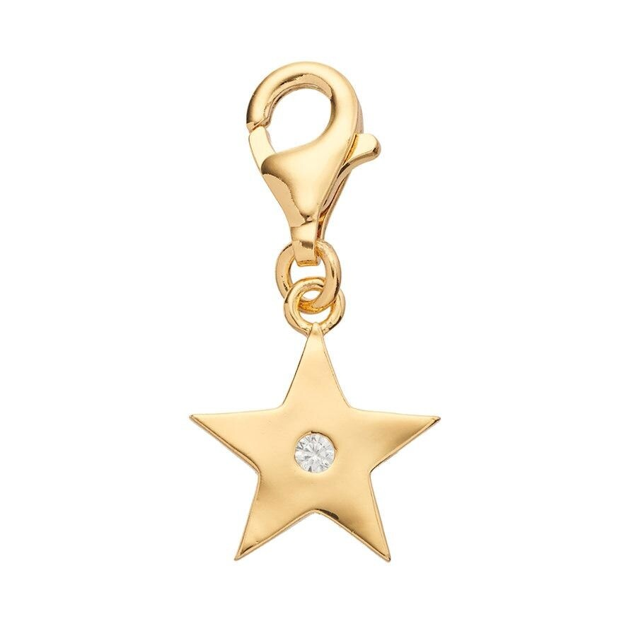Julieta Jewelry Star CZ Clip-On Charm - Thumbnail 0