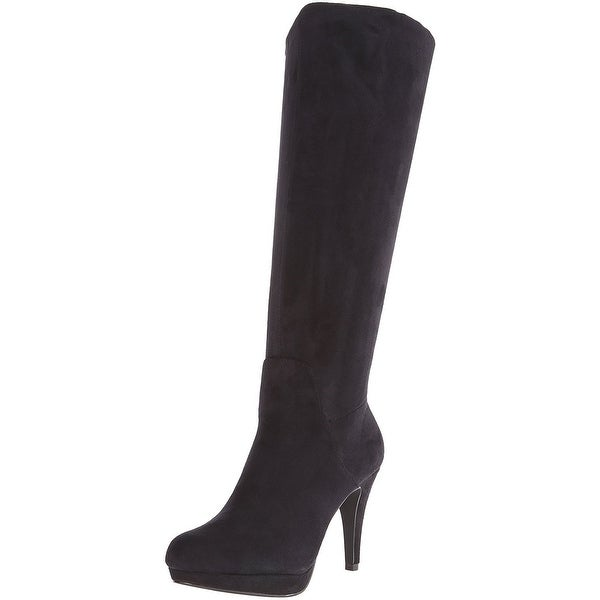 Adrienne Vittadini Womens PREMIRE Closed Toe Mid-Calf Fashion Boots