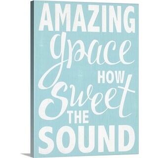 Alli Rogosich Premium Thick-Wrap Canvas entitled Amazing Grace