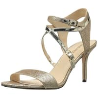 Nine West Women's Gypsee Glitter Dress Sandal