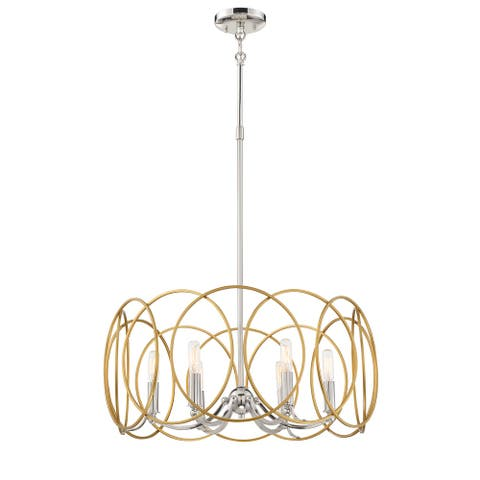 Chassell - 6 Light Chandelier by Minka Lavery