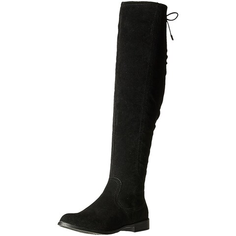Xoxo Womens Trishh2 Suede Closed Toe Mid-Calf Fashion Boots