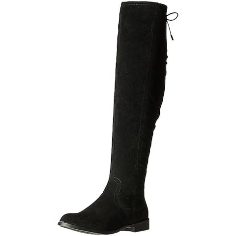 Xoxo Womens Trishh2 Suede Closed Toe Mid-Calf Fashion Boots
