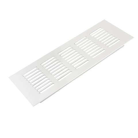 Meeting Room 22.5 x 8cm Aluminum Alloy Rectangle Design Air Vent Louver Cover