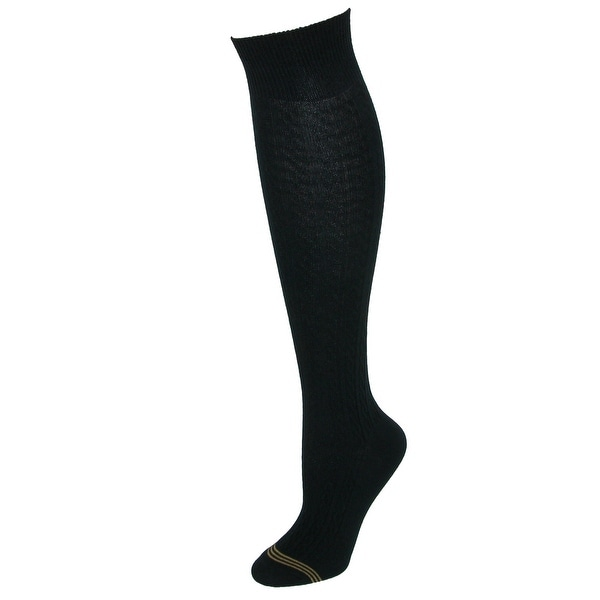 be913714e32 Shop Gold Toe Girls  Cable Knit Knee High Uniform Socks (Pack of 3 ...