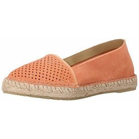 Miz Mooz NEW Pink Salmon Angela Shoes Size 8.5M Espadrilles Suede