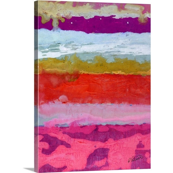 """""""Watching Clouds Go By"""" Canvas Wall Art"""