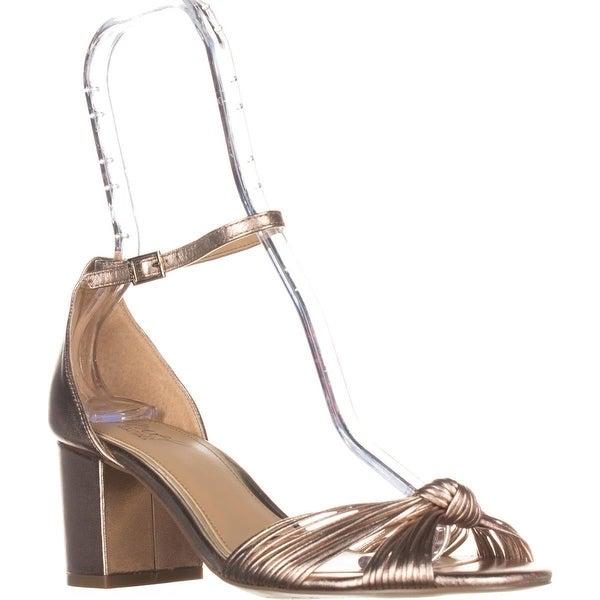 Jewel Badgley Mischka Lacey Ankle Strap Sandals, Rosmet