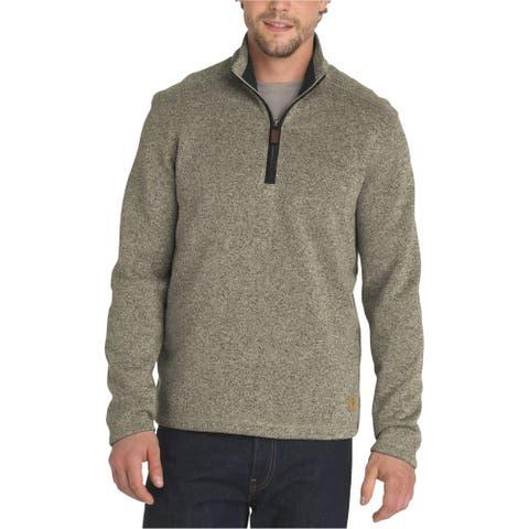 G.H. Bass & Co. Mens Madawaska Sweatshirt, Beige, Medium