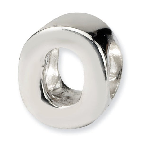 Sterling Silver Reflections Letter O Bead (4mm Diameter Hole)