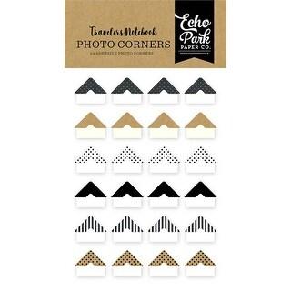 Coffee & Friends - Echo Park Traveler's Notebook Photo Corners 24/Pkg