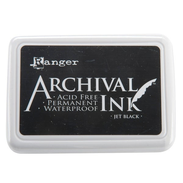 Archival Ink Pad #0-Jet Black