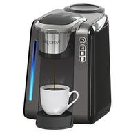 Single Cup Coffee Maker for K Cups By Ekobrew (Reusable Single Serve Coffee Pod Included )