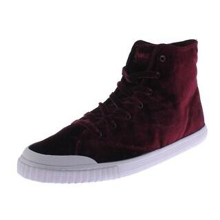Tretorn Womens Marley 4 Fashion Sneakers Velvet Casual - 10.5 medium (b,m)