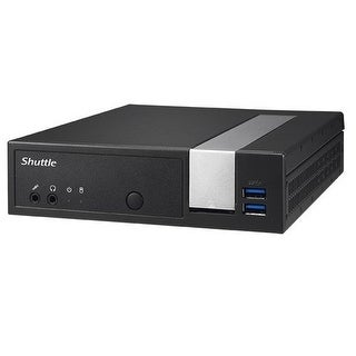 Shuttle Xpc Slim Dx30, Intel Apollolake Celeron J3355, Gigabit Lan, Dual Com Port, Fanless Design, Ddr3l Sodimm Max 16Gb