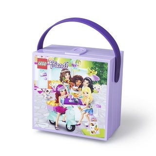 LEGO Friends Lunch Box with Handle, Lavender - Multi