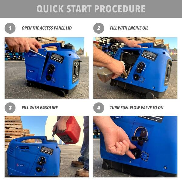 Shop ARKSEN Quiet Portable Inverter Generator EPA CARB