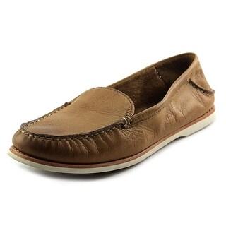 Frye Quincy Venetian Moc Toe Leather Loafer