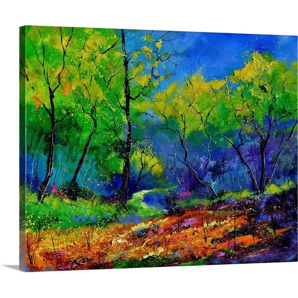 """Magic Wood 67"" Canvas Wall Art"