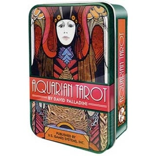 Aquarian tarot tin by Palladini, David