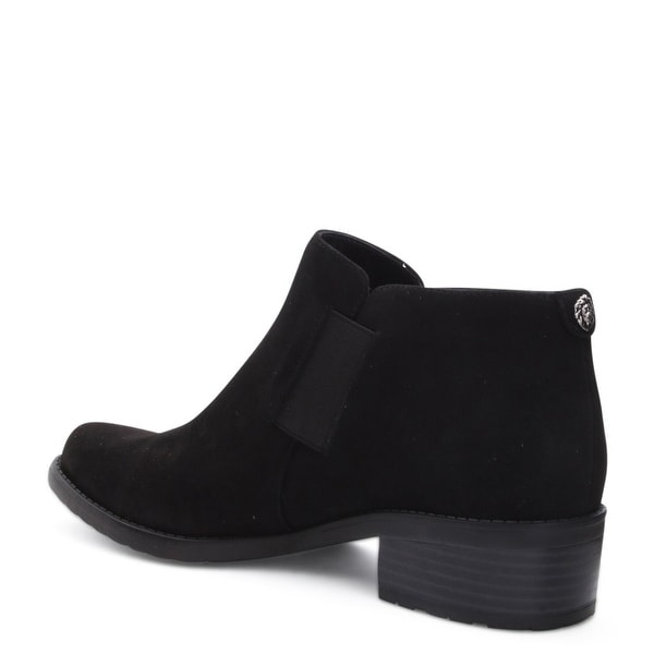 Anne Klein Womens leslie Fabric Closed Toe Ankle Chelsea Boots - 9.5