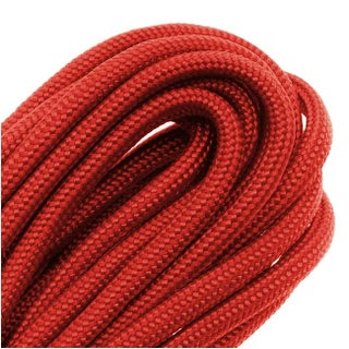 Paracord 550 / Nylon Parachute Cord 4mm - Red (16 Feet/4.8 Meters)