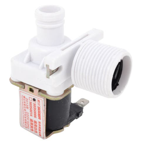 Replacement 24mm Male Thread Washing Machine Water Inlet Solenoid Valve AC220V