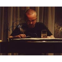 Sign Here Autographs 12789 Aaron Paul in-Person Autographed Photo