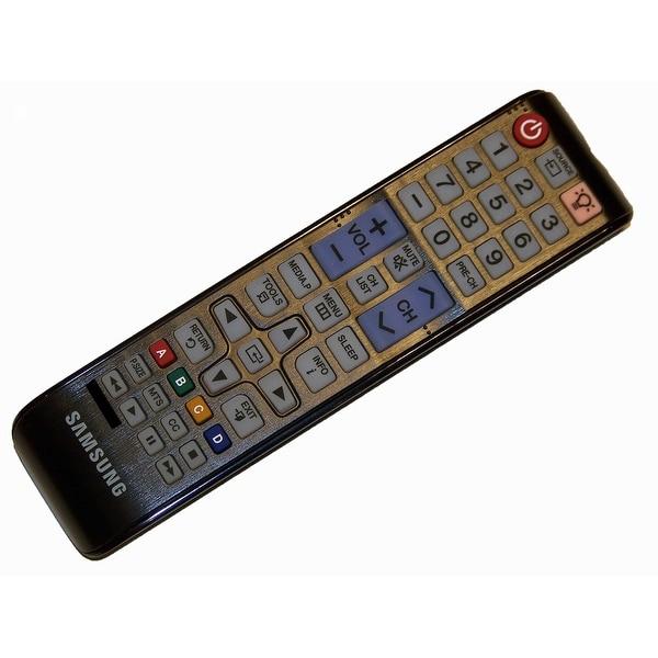 OEM Samsung Remote Control Originally Shipped With: PN51E450A1FXZATD02, PN51E530A3FXZA, PN60E530A3FXZATS02
