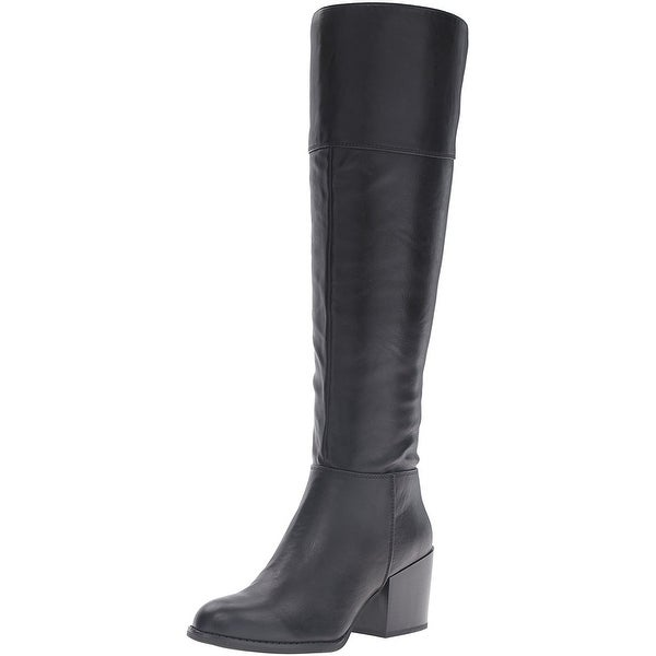 Madden Girl Womens Wendiee Closed Toe Knee High Fashion Boots