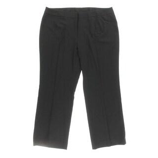 Tahari ASL Womens Plus Dress Pants Twill Pleated - 20W