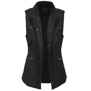 NE PEOPLE Womens Military Anorak Jacket [NEWJ132]