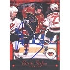 Patrik Stefan Atlanta Thrashers 2001 Topps Premier Plus Autographed Card This item comes with a ce