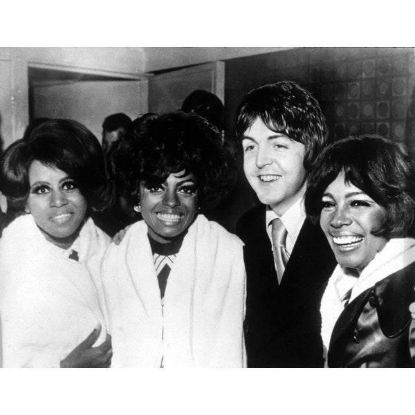 75da4714 Shop Paul Mccartney With Diana Ross And The Supremes In London History - Free  Shipping On Orders Over $45 - Overstock - 24422548