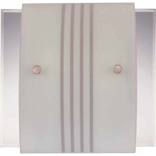 "Volume Lighting V6055 12"" Width Wall Washer Sconce with 2 Lights and Hand Sandbl"