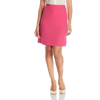 Kasper Petite Stretch Crepe Skirt Pink Perfection - 14P