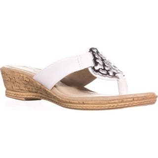 daf2e5c1f Tuscany by Easy Street Rossano Comfort Wedge Sandals