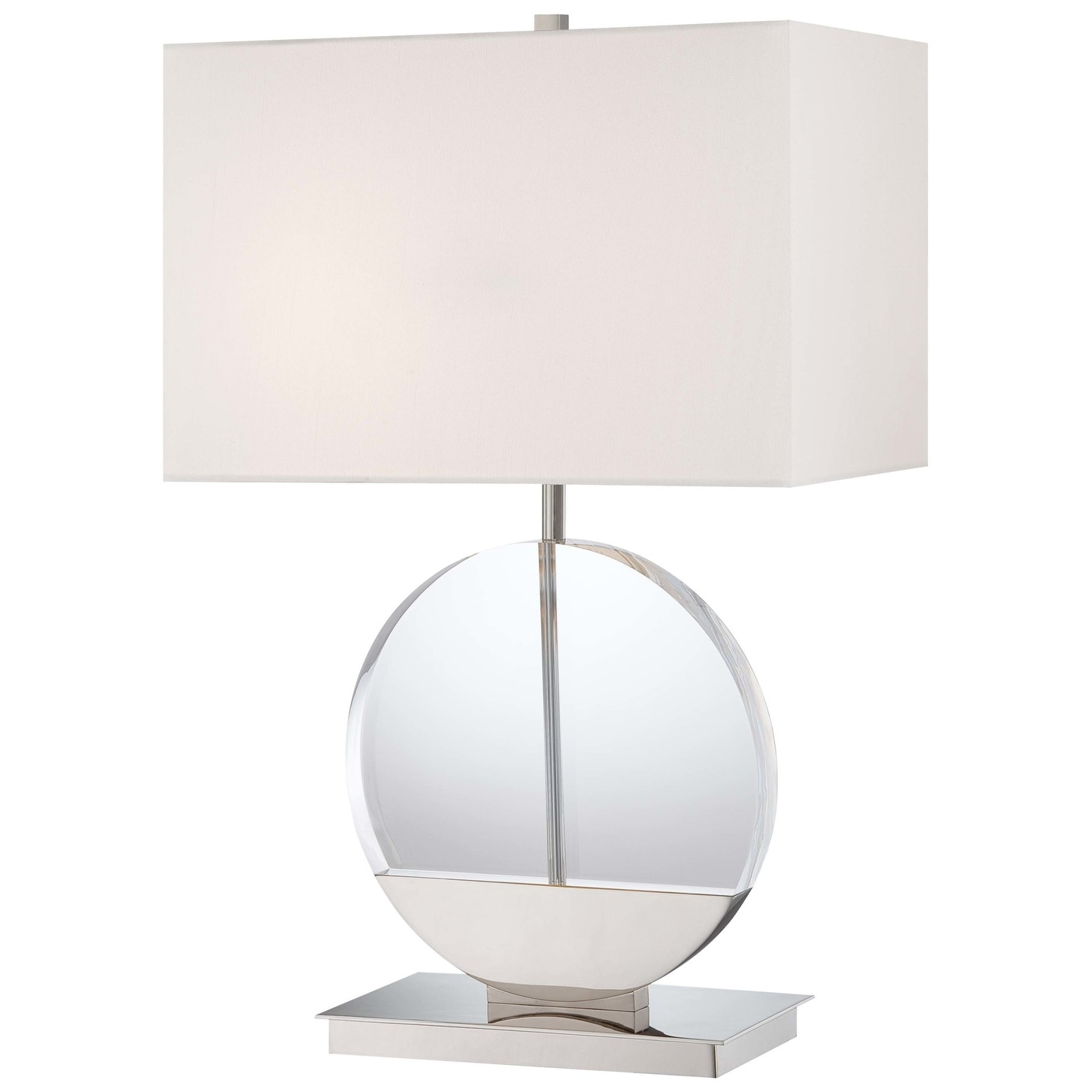 Kovacs P764 613 2 Light 26 5 Height Table Lamp From The Decorative Portables Collection Polished Nickel Overstock 13056831